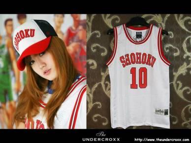 Slam Dunk Shohoku Sakuragi 10 Basketball White