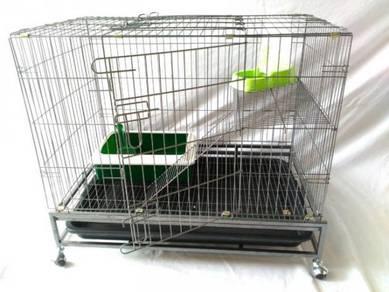 Sangkar Kucing Baru Untuk Dijual - 1 tingkat