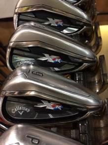 Golf M Callaway XR 5 to Pw Graphite set