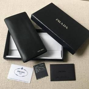 Authentic PRADA vitello wallet dompet purse UNISEX