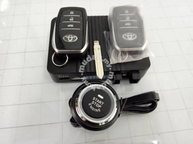Toyota Altis Push Start Alarm