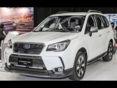 Subaru Forester bodykit