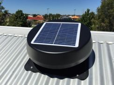 17UUJK Solar Powered Roof Exhaust Fan (Germany)
