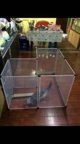 Transparent pet fence / pet playpen 09
