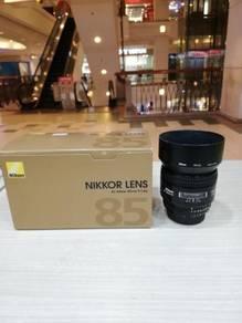 Nikon af 85mm f1.8d lens (99% new)