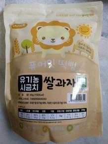 Korea organic baby snack