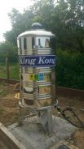 Water tank capacity 500 liter Stainless Steel