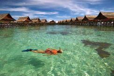 AMI Travel | Snorkeling Mabul&Kapalai Island 4D3N