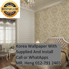 Wall paper with Installation for your HOME 65rcfc