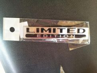 Emblem limited edition
