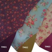 Tudung Instant Moss Crepe Printed