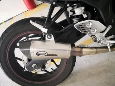 Performance exhaust full system yamaha r25