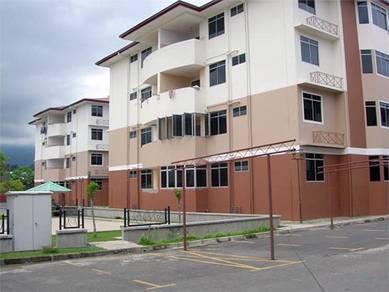 3-Rooms Apartment Menggatal Inanam