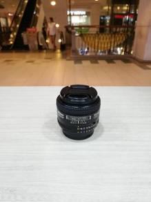Nikon af 35mm f2d lens (97% new)