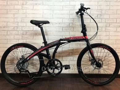 NEW CONGO 9SP ALTUS folding bike bicycle BASIKAL
