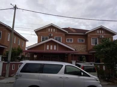 Double storey s/d taman bunga raya tapah for sale