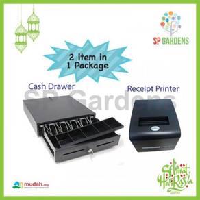 Cash drawer thermal receipt printer 80mm auto cut