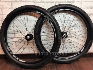 MTB BIKE Wheelset 26 HUBS Seal Bearing 8/9/10Speed