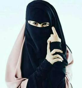 Niqab dan jubah