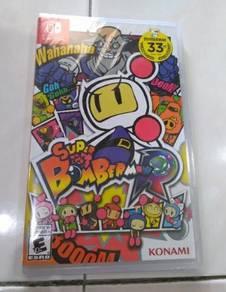 New nintendo switch game- Super bomberman