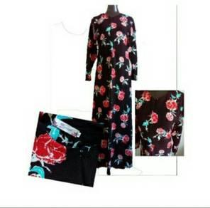 Dress floral murahh