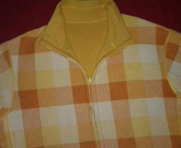 Uniqlo fleece sweater reversible