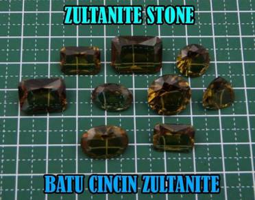 Zultanite Stone | Batu Cincin Zultanite II