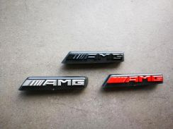 Mercedes Grill AMG Emblem Badge