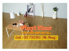 NEW Made Vinyl Floor with Install 91CT