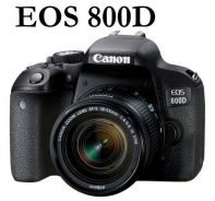 NEW Canon EOS 800D DSLR with 18-55mm STM Lens