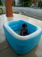 Kolam Budak Inflatable Pool 3 Layers