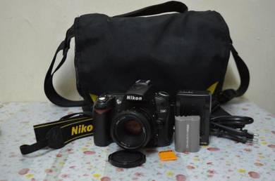Nikon D90 + Lens complete set