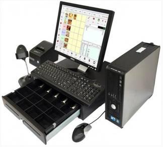 Cash registers pos system mesin cashier complete
