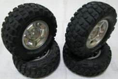 RC Tamiya 1/10 Ford F350 Wheels and Tyres Toyota
