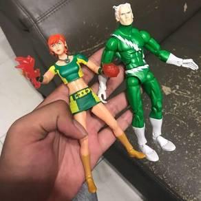 Marvel legends rachel & quicksilver