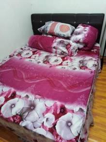 Bilik Sewa lengkap perabot beserta aircond & kipas
