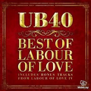 Ub40 - Best Of Labour Of Love - New Reggae CD