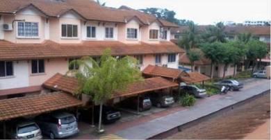 Town House, Villa Rose, Tampoi Indah, Skudai