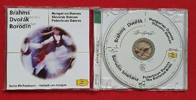 HUNGARIAN SLOVANIC POLOVTSIAN DANCES Classical CD