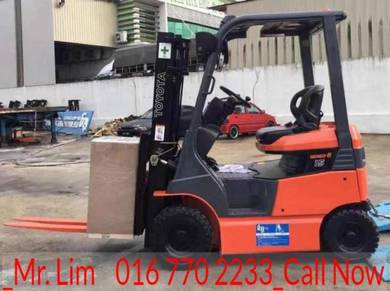 TOYOTA Battery Forklift 1.5 Ton Recon JAPAN