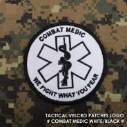 Military Army Tactical Velcro Patch Combat Medic