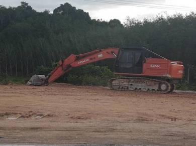 Used recon excavator hitachi ex200-5
