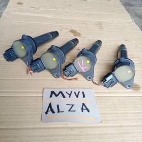 Myvi alza coil plug original japan haftcut
