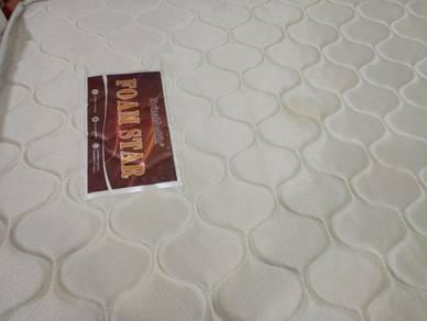 Katil Mattress Single Foam Star