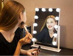 Mirror Frameless Light Therapy LED Makeup Mirror