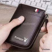 Wallet leather playboy