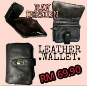 Rav design leather wallet