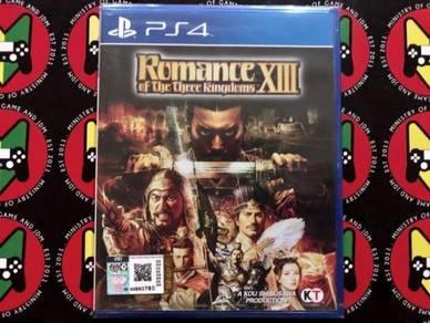 [NEW]PS4 Romance Of The Three Kingdom XIII
