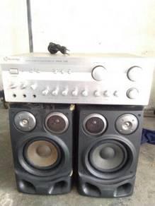 Ampflier n speaker aiwa