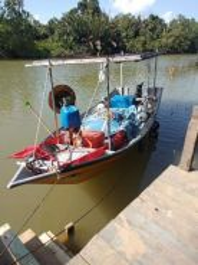 Boat / bot berserta enjin